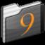 64x64 of Classic Folder black