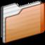 64x64 of Folder orange
