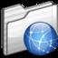 64x64 of Sites Folder white