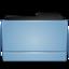 64x64 of Folder blue (Leopard)