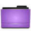 64x64 of Folder purple