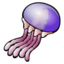 64x64 of jellyfish