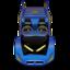 64x64 of Batmobile 1980s