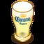 64x64 of Corona beer glass