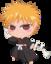 64x64 of Ichigo Bleach Chibi Nr  3 by rukichen