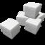 64x64 of Sugar cubes