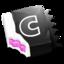 64x64 of Black 'N Pink CandyBar