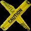 64x64 of Caution CAT