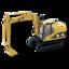 64x64 of Hydrolic Excavator
