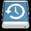 64x64 of Blue External Drive Backup