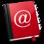 64x64 of AddressBook Red