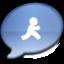 64x64 of iChat Aqua AIM