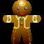 64x64 of Ginger man