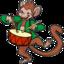 64x64 of Monkey 3