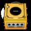 64x64 of Gamecube orange
