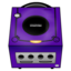 64x64 of Gamecube purple
