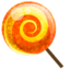 64x64 of candy orange