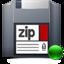 64x64 of zip mount