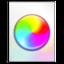 64x64 of colorset