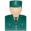 64x64 of Guardia civil uniform