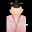 64x64 of Kimono women pink