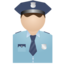 64x64 of Policeman no uniform