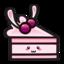 64x64 of bunnycake