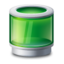 64x64 of Recycle bin green