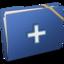 64x64 of Blue Elastic Add