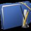 64x64 of Blue Elastic Application