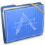 64x64 of Blue Elastic Developer