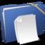 64x64 of Blue Elastic Documents