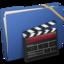 64x64 of Blue Elastic Movie