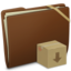 64x64 of Brown Elastic Drop Box