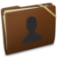 64x64 of Brown Elastic User