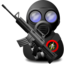 64x64 of Gas Soldier with Weapon