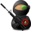 64x64 of Sniper Soldier with Weapon