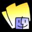 64x64 of System Folder Yellow