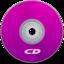 64x64 of CD Purple