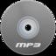 64x64 of Mp3 Gray