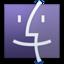 64x64 of Finder Purple