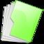 64x64 of Folder Green