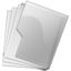 64x64 of Folder Silver