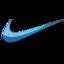 64x64 of Nike blue logo