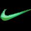 nike green logo png icons free download. Black Bedroom Furniture Sets. Home Design Ideas