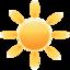 64x64 of Weather sun