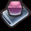 64x64 of Purple Cubes