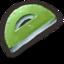 64x64 of Green Protractor