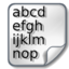 64x64 of Ascii