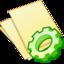 64x64 of Documents yellow exec